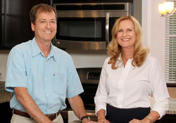 David and Melody Shacter lead the Energy Efficient team in Jacksonville, Florida