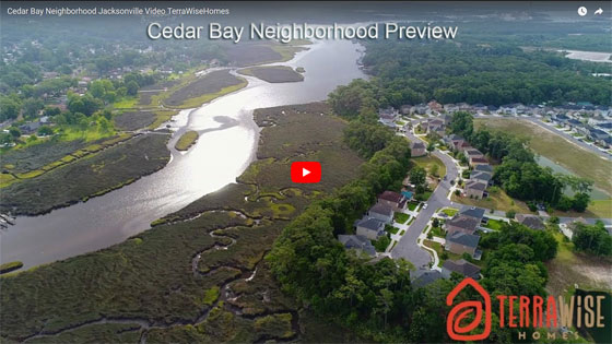 Cedar Bay on the north side of Jacksonville Florida.