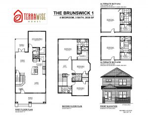 The Brunswick Floorplan from TerraWise Homes