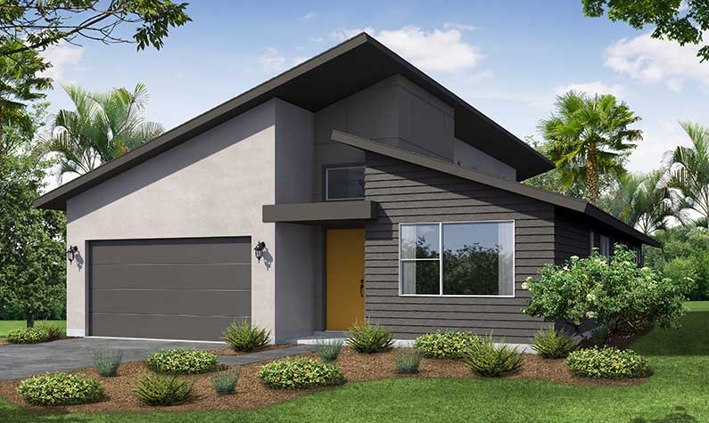 St. Marys Modern Rendering TerraWise Homes