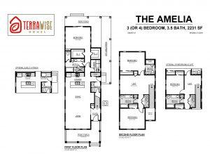 Amelia Floorplan from TerraWise Homes
