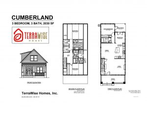 Cumberland Floorplan from TerraWise Homes