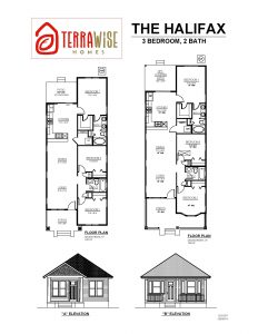 Halifax Floorplans from TerraWise Homes