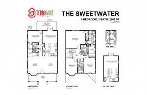 Sweetwater Floorplan from TerraWise Homes