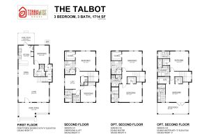 Talbot Floorplan from TerraWise Homes
