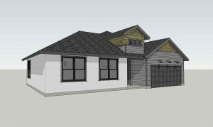 The St. Marys IV Craftsman Elevation from TerraWise Homes