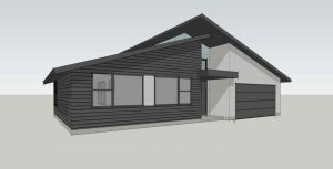 The St. Marys IV Modern Elevation from TerraWise Homes