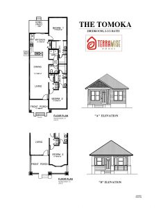 Tomoka Floorplan from TerraWise Homes