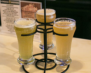 Terra-Weisse Beer Three Flavors at Hyperion Brewery TerraWise Homes