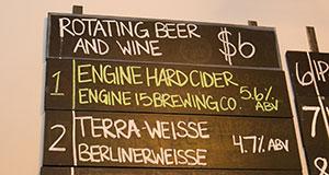 TerraWise Terra-Weisse Beer Hyperion BreweryMenu