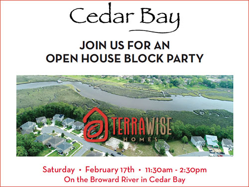 Cedar Bay Block Party TerraWise Homes