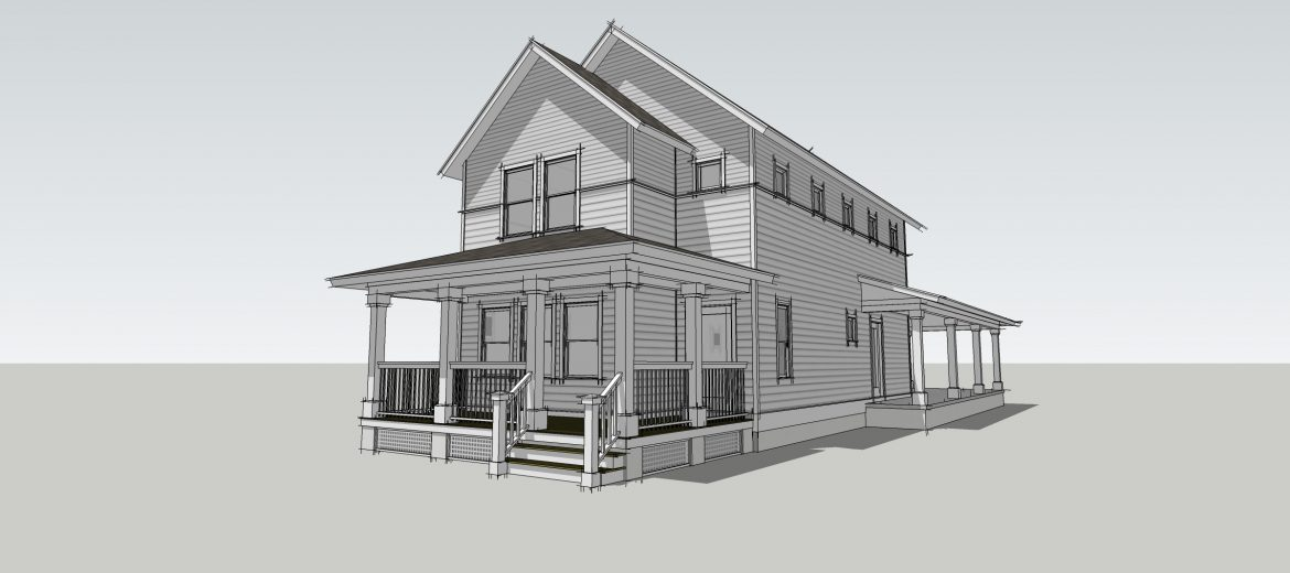 Amelia Elevation from TerraWise Homes