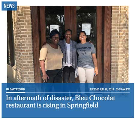 Bleu Chocolat Daily Record Story Linkn