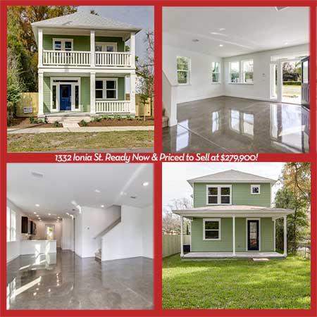 Photo montage Talbot 1332 Ionia St. Jacksonville TerraWise Home