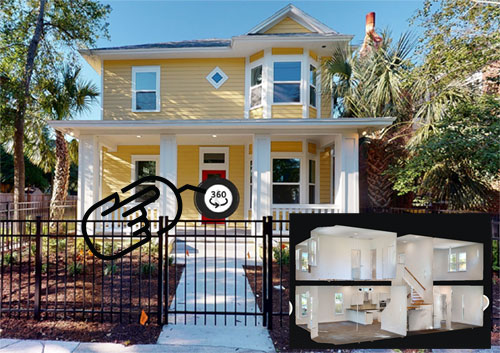 TerraWise Homes Sweetwater Open Concept Plan 3d Virtual Tour historic Springfield