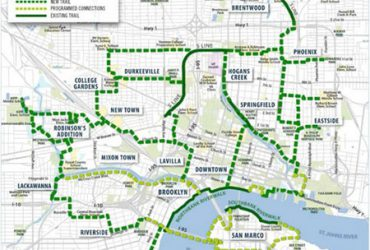 Jacksonville Emerald Trail System Gets Boost From Gas Tax