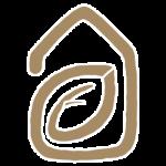 TerraWise Homes Logo Brown