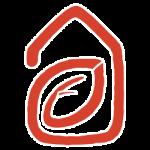 TerraWise Homes Logo Icon Orange
